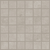 Cove Pebble chalk-look porcelain tile in mosaic pattern from Atlas Concorde USA - sample