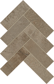 Herringbone pattern with Rift Portland porcelain tile from Atlas Concorde USA-sample