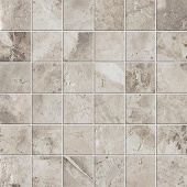 Native Collection North Granite stone-look porcelain tile in 2x2 mosaic from Atlas Concorde USA - sample
