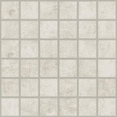 Cove Linen chalk-look porcelain tile in mosaic pattern from Atlas Concorde USA - sample