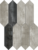 Forge Collection Spark Extend Mosaic pattern Mood porcelain tile from Atlas Concorde USA - sample