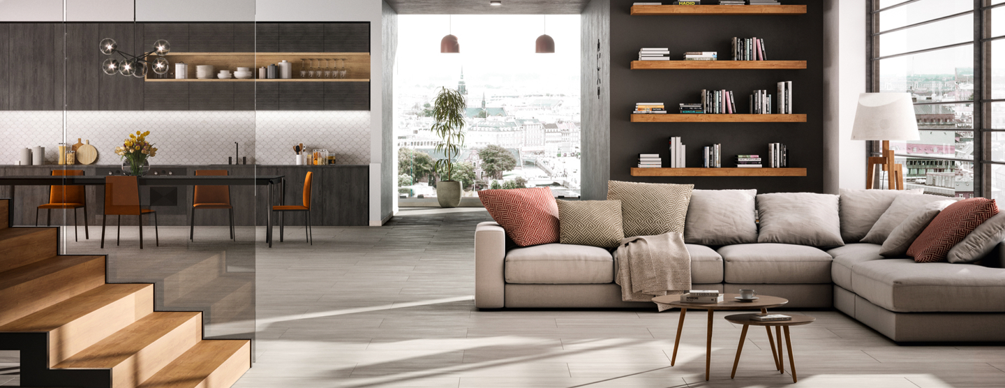 Ceramic and porcelain tile collections for your new kitchen or bathroom from Atlas Concorde USA